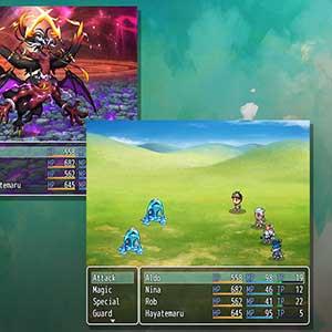 RPG Maker Modos del sistema de batalla