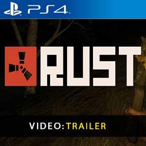 Video del trailer de Rust PS4