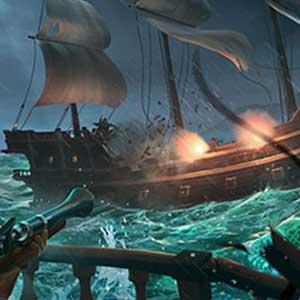 Batalla naval de ladrones
