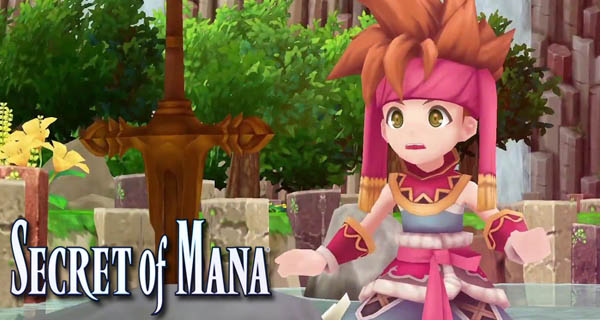 Secret of Mana Livestream Cover