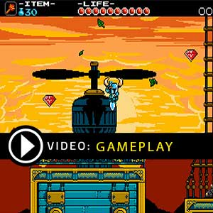 Shovel Knight Nintendo Switch Gameplay Video