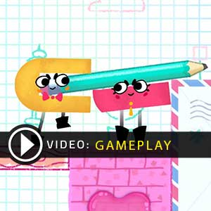 Snipperclips Cut it out together Gameplay Video