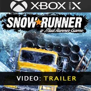 SnowRunner trailer video
