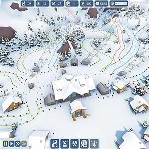 Snowtopia Ski Resort Builder Dificultad De La Pista
