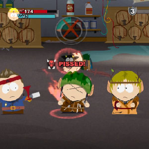 South Park the Stick of Truth Battle