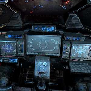 Cabina de la nave espacial