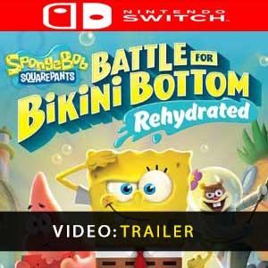 Comprar Spongebob SquarePants Battle for Bikini Bottom Rehydrated Nintendo Switch Barato comparar precios