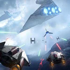 Star Wars Battlefront Imperial Battlecruiser