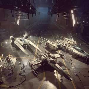 STAR WARS Squadrons Cazas estelares del escuadrón Titan