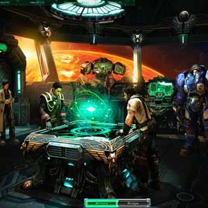 StarCraft 2: Wings of Liberty Bridge of the Hyperion