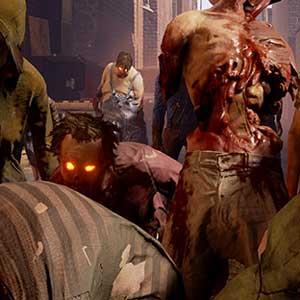 Un grupo de zombies