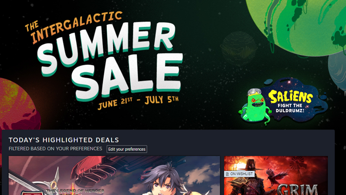 Steam Summer Sale 2018