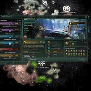 Stellaris Nemesis Comunidad Galáctica