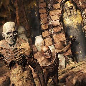 moaning mummies