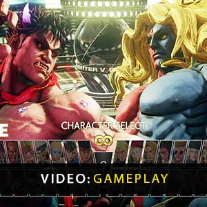 Street Fighter 5 Champion Edition Upgrade Kit Gameplay Video