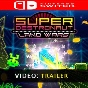 Super Destronaut Land Wars Nintendo Switch Prices Digital or Box Edition