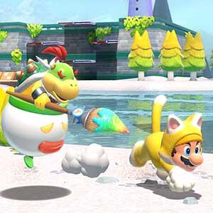 Super Mario 3D World + Bowser s Fury Nintendo Switch - Bowser y Mario