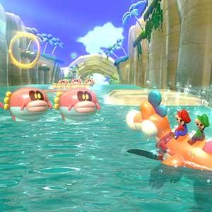 Super Mario 3D World + Bowser s Fury Nintendo Switch - Monstruos del río
