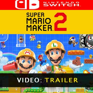 Vídeo del tráiler de Super Mario Maker 2