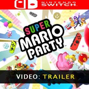 Super Mario Party Nintendo Switch video trailer