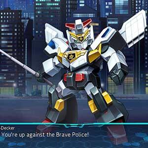Super Robot Wars 30 Policía valiente