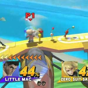 Super Smash Bros Nintendo Wii U Fight