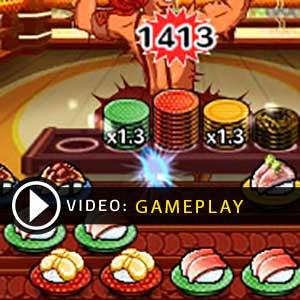 Sushi Striker The Way of Sushido Nintendo 3DS Gameplay Video