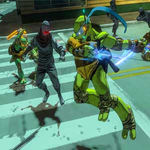 Teenage Mutant Ninja Turtles Mutants in Manhattan Xbox One Lucha