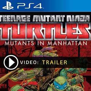 Teenage Mutant Ninja Turtles Mutants in Manhattan PS4 Precios Digitales o Edición Física