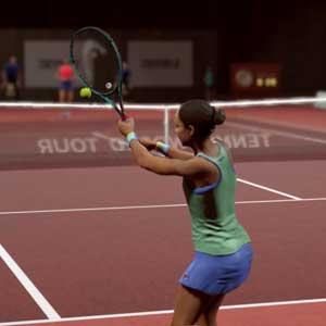 Tennis World Tour 2 cancha de arcilla