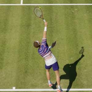 Tennis World Tour 2 cancha de césped