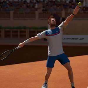 Servicio del Tennis World Tour 2