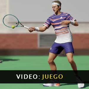 Video de juego del Tennis World Tour 2