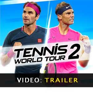 Video del trailer del Tennis World Tour 2