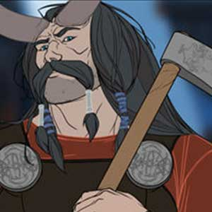 The Banner Saga 2 Hakon and Mogr in discussion