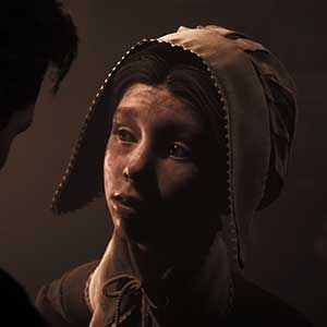 Ojos de un niño con esperanza