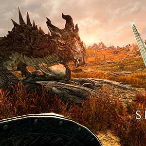 The Elder Scrolls 5 Skyrim VR - Dragón