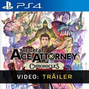 The Great Ace Attorney Chronicles PS4 Tráiler En Vídeo