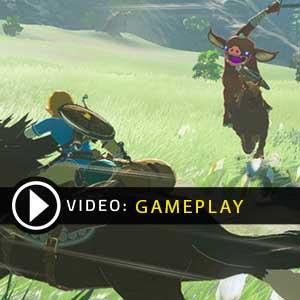 The Legend of Zelda Breath of the Wild Gameplay Video