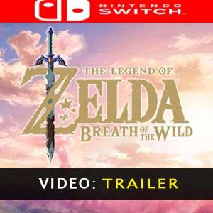 The Legend of Zelda Breath of the Wild Nintendo Switch - Video Trailer