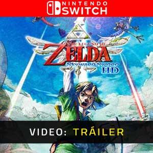 The Legend of Zelda Skyward Sword HD Nintendo Switch Tráiler En Vídeo