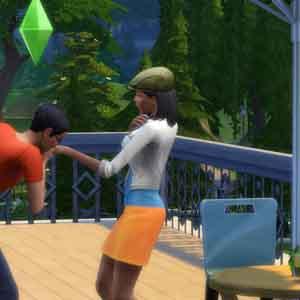 Sims 4 Socializando