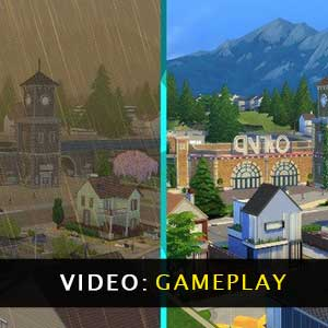 The Sims 4 Eco Lifestyle Gameplay Video