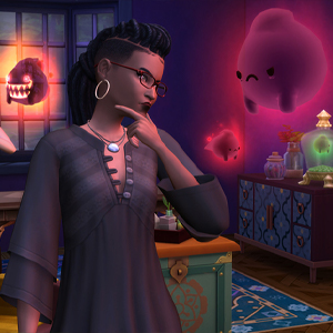 The Sims 4 Paranormal Stuff Pack - Experto en lo paranormal