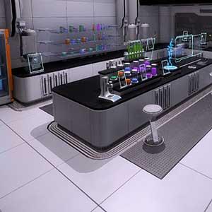 Estación de laboratorio superior