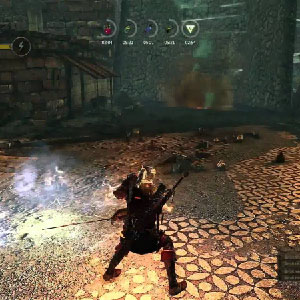 The Witcher 2 Assassins of Kings Battle Scene