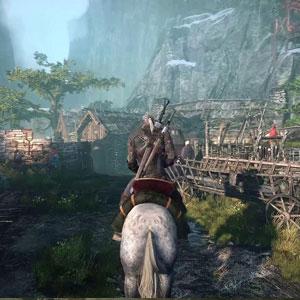 El juego para PS4 de The Witcher 3 Wild Hunt