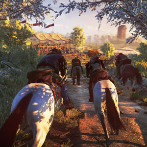 The Witcher 3 Wild Hunt PS4 Caballo Transporte