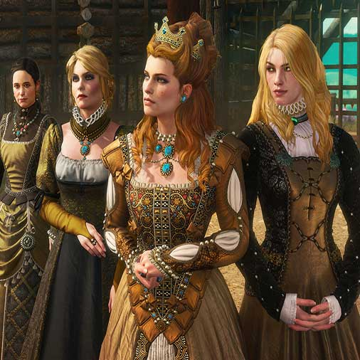 The Witcher 3 Wild Hunt Blood and Wine Caracteres