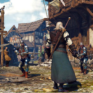 The Witcher 3 Wild Hunt Batalla